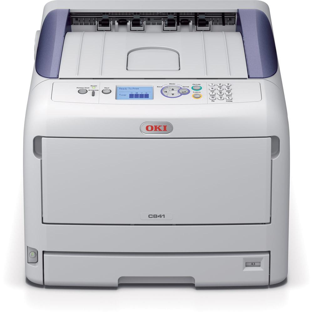 stampante laser oki c 841
