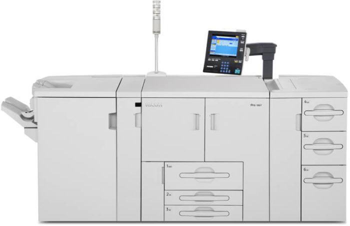 stampante alto volume ricoh