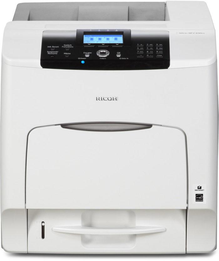 stampante nashuatec aficio spc 430 dn colore