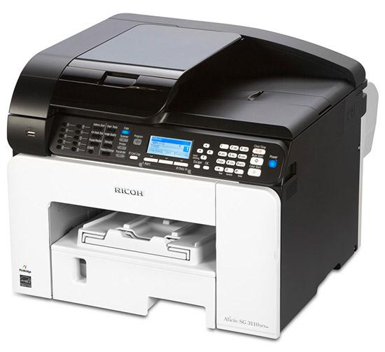stampante nashuatec geljet aficio 3110dn