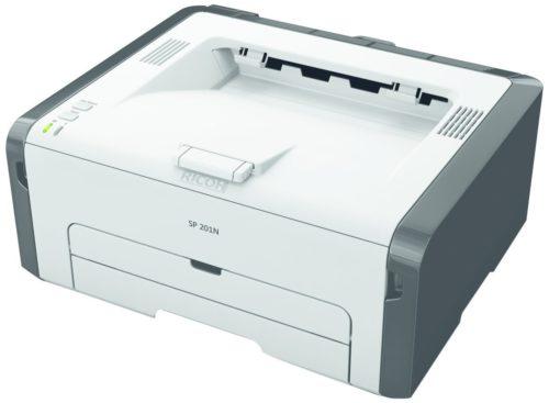 stampante nashuatec laser bianco nero sp201n