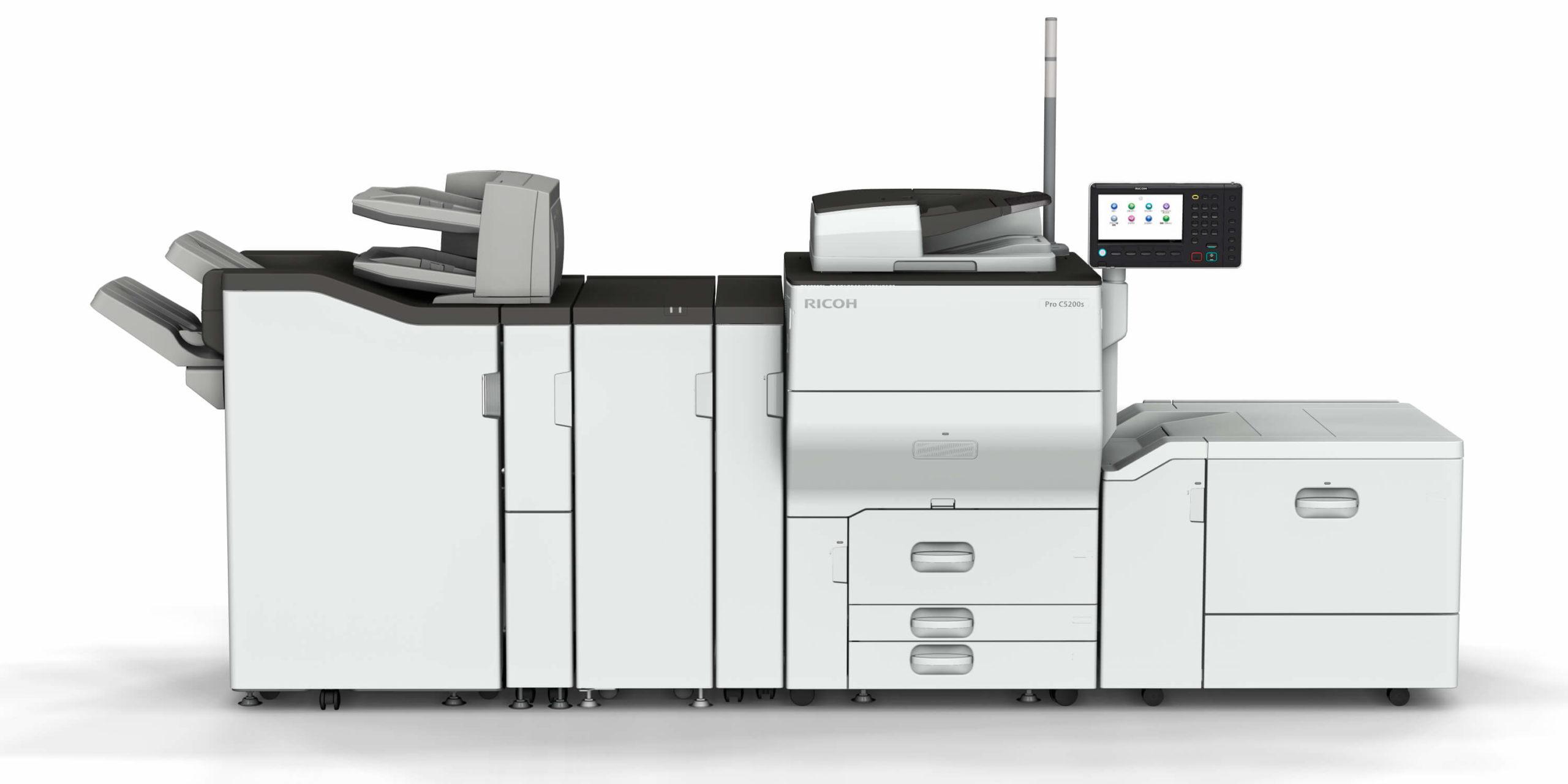 stampante ricoh 5200s