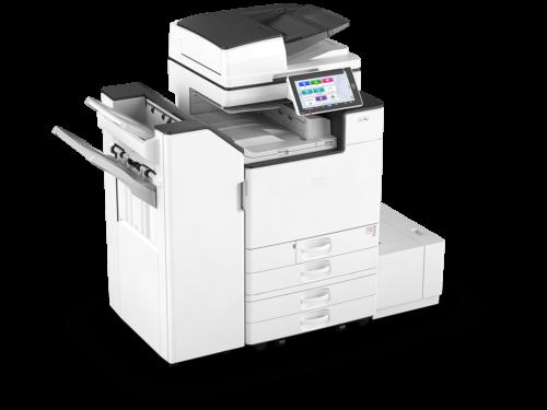 stampante multifunzione colore con finisher