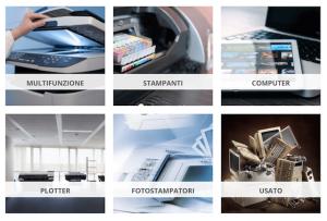 catalogo stampanti e fotocopiatrici in affitto