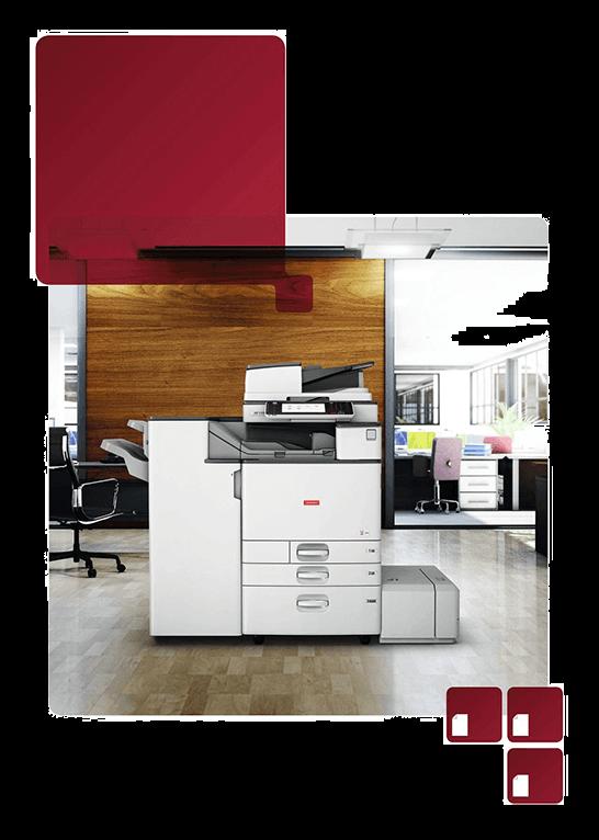 stampante multifunzione per ufficio