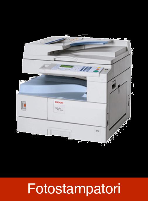 catalogo fotocopiatrici fotostampatori